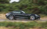 Mercedes-AMG GT C 2018 first drive review on the road side
