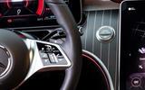 13 Mercedes Benz C Class 2021 FD start button