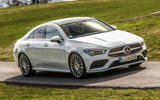 Mercedes-Benz CLA 2019 first drive review - on the road front