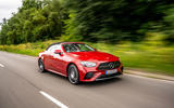 Mercedes-Benz E-Class e450 Cabriolet 2020 UK first drive review - on the road front