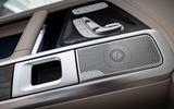 Mercedes-Benz G400d 2019 first drive review - door cards