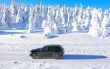 Mercedes-Benz GLC 300 2019 prototype drive - trees