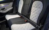 Mercedes-Benz GLC 300d 2019 first drive review - rear seats