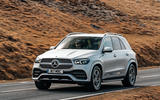 Mercedes-Benz GLE 2019 UK first drive review - on the road front