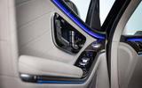 Mercedes-Benz S Class S580e 2020 first drive review - door cards