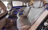 Mercedes-Benz S-Class S500 2020 first drive review - rear seats