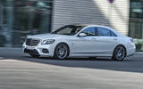 Mercedes-Benz S-Class S560e 2018 first drive review - on the road side