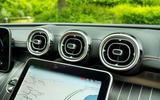 13 Mercedes C Class Estate 2021 UK LHD FD air vents