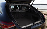 Mercedes-Benz CLA Shooting Brake 220d 2020 UK first drive review - boot