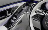 13 Mercedes Maybach S680 2021 FD interior trim