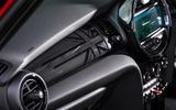 Mini Cooper 5dr 2018 UK review interior trim