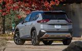 13 Nissan Rogue 2021 USA FD static rear