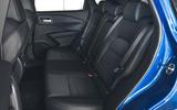13 Nissan Qashqai 2021 UK FD rear seats