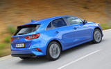 Kia Ceed 2018 first drive review on the road rear
