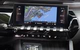 Peugeot 508 2018 review infotainment