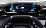 Peugeot 508 Hybrid4 2020 first drive review - instruments