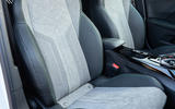 Peugeot e-2008 2020 first drive review - seats