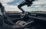 Porsche 911 Targa 2020 UK first drive review - cabin