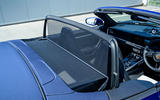 Porsche 911 Turbo S Cabriolet 2020 UK first drive review - wind deflector