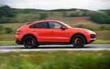 Porsche Cayenne Coupé 2019 first drive review - on the road side
