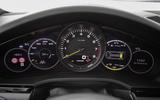 Porsche Cayenne E-Hybrid 2018 review instrument cluster