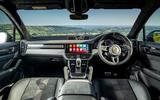13 Porsche Cayenne Turbo GT 2021 UK FD cabin