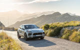 Porsche Macan S 2019 first drive review - on the road nose