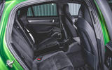 Porsche Panamera GTS 2019 UK first drive review - rear seats