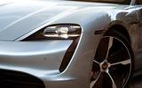 Porsche Taycan Turbo S - stationary wheel