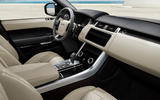 2021 Range Rover Sport Carbon Black Edition - interior