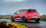 13 Renault Megane RS 300 EDC 2021 UK first drive review static rear