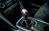 Renault Megane RS 300 Trophy 2019 UK first drive review - gearstick