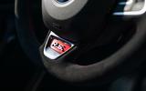 Renault Megane Trophy R 2019 first drive review - steering wheel