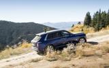 Rolls-Royce Cullinan 2018 first drive climbing a hill off-road