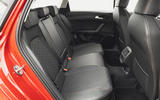 13 Seat Leon estate FR 2021 UK first drive review rear seats