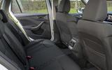 Skoda Kamiq 2019 UK first drive review - rear seats