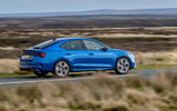 13 skoda octavia vrs tdi 2021 uk first drive review on road rear