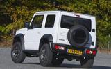 Suzuki Jimny 2018 UK first drive review - cornering rear