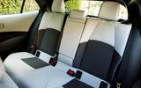 Toyota Corolla 2.0 XSE CVT 2019 review - rear seats