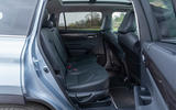 13 Toyota Highlander 2021 UK first drive review rear seats