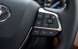 Toyota Highlander Hybrid 2020 first drive review - steering wheel buttons