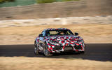 Toyota Supra 2019 prototype first drive review drift nose