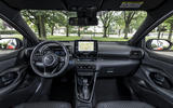 Toyota Yaris hybrid 2020 UK first drive review - dashboard