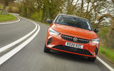Vauxhall Corsa-e 2020 UK first drive review - on the road nose