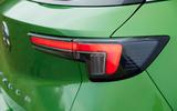 13 Vauxhall Mokka e 2021 UK first drive review rear lights