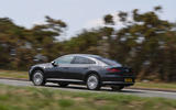Volkswagen Arteon 1.5 EVO 2018 UK review on the road rear