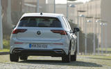 Volkswagen Golf 2020 first drive review - on the road rear