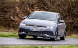 Volkswagen Golf GTI Clubsport 2020 first drive review - cornering front