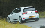 Volkswagen Golf R m52 2019 UK first drive review - cornering rear