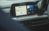 13 Volkswagen Golf R performance pack 2021 UK FD infotainment